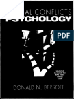 Ethical Conflicts Psychology