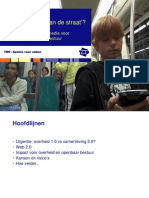 Presentatie rapport User Generated State