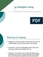 Hedging Strategies