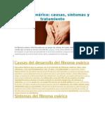 Fibroma Ovárico