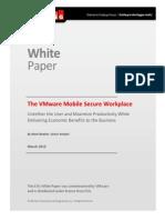 ESG VMware View Mobile Secure Desktop WP