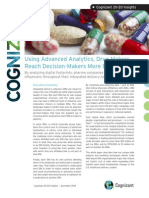 Using Advanced Analytics, Drug Makers Reach Decision-Makers More Effectively