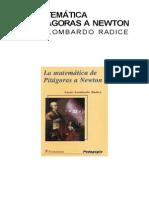 Radice Lucio - La Matematica de Pitagoras a Newton