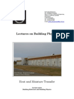 Lectures on Building Physics