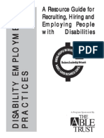 Disability Hiring Guide