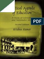 Krishna Kumar - Political Agenda of Education