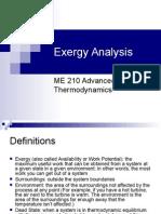 Exergy Analysis.ppt