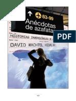Anécdotas de azafatas - David Watchel Hidalgo