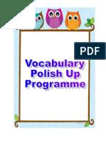 Vocab Polish Up Programme