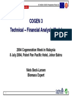 Cogen 3 Technical Financial Analysis Model