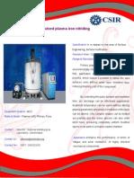 Pulsed Plasma Iron Nitriding