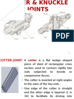 Cotter & Knuckle Joints