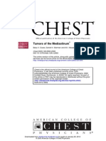 Chest 2005 Tumors of Mediastinum