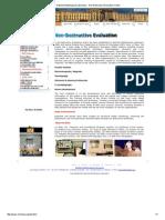 National Metallurgical Laboratory - Non Destructive Evaluation Centre
