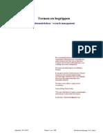 Termen en Begrippen (Versie 23 Januari 2015)