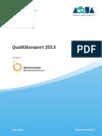 AQUA Qualitaetsreport 2013