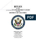 LocalRulesNov2014 USDC Dist.columbia