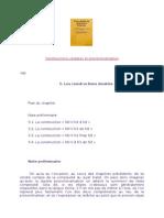 Constructions Verbales Et Pronominalisation