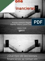 01 Decisiones Financieras