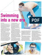 Swimming into a new era