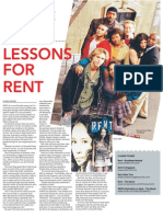 Lessons for rent