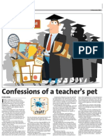 Confessions of a teacher's pet