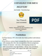 Suci Winarsih-nanotechnology for Drug Delivery