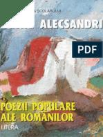 Alecsandri Vasile - Poezii Populare Ale Rom (Aprecieri)