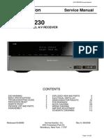 Harman Kardon AVR355 Service manual