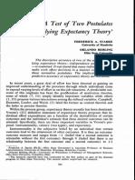 Critica Teoria Asteptarilor Vroom
