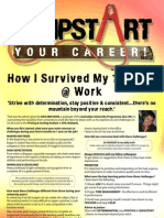 JUMPSTART Your Career! October 2007, VOL. 6