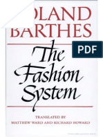 Barthes, Roland - The Fashion System