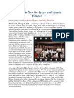 The Time is Now for Japan and Islamic Finance