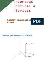 Coordenadas Cilindricas e Esfericas I