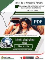 Plan de Induccion TIC del Programa de Actualización en Didáctica