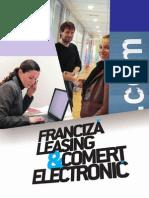 Franciza leasing si comert electronic