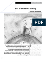 The Practicalities of Emissions Trading