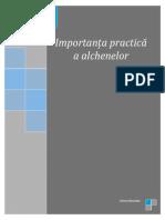 Importanța practică a alchenelor