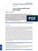A Method for Processing Multivariate