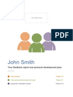 Spidergap Sample 360 Degree Feedback Report