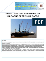 Sip007 - Guidance on Loading Unloading of Dry Bulk Cargo - Issue 1