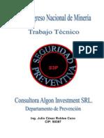 Seguridad Preventiva congreso nacional de mineria