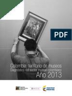 Diagnostico del sector museal colombiano 2013