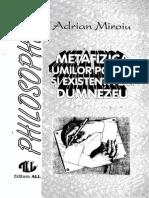 Adrian Miroiu Metafizica Lumilor Posibile