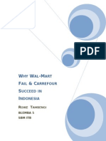 (Roike_Paper) Wal-Mart & Carrefour in Indonesia