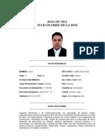 Hoja de Vida Julio Florez de La Hoz