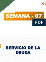 Servicio de la deuda
