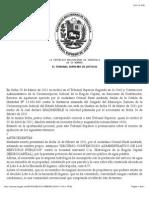 TSJ Regiones - Decisión Jurisprudencia Hidrocapital