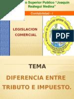 Exposicion Diferencia Entre Tributo e Impuesto