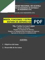 Semana 15 y 16 - Misión, Funciones y Estructura Del SDN